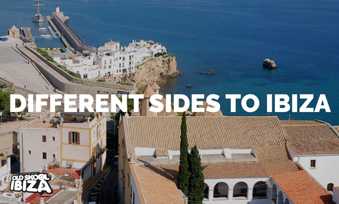 Different sides to Ibiza